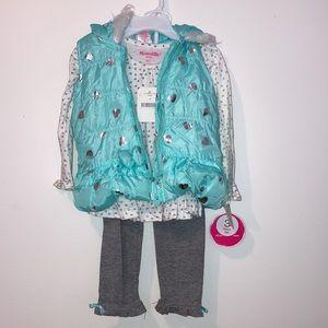 3 pc set Size 3T girl toddler